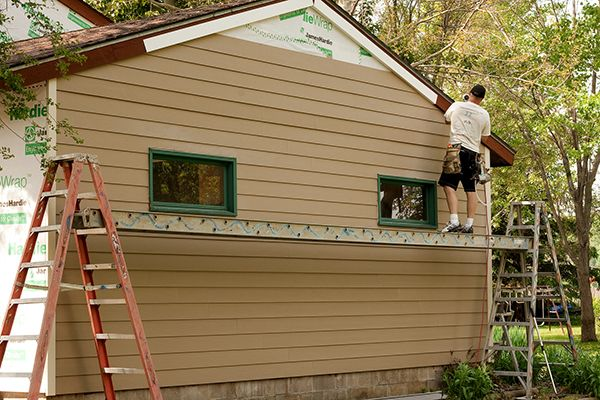 Masonite siding masters roofing bartlett tn for Exterior alternatives richmond va