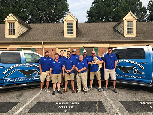 masters roofing team